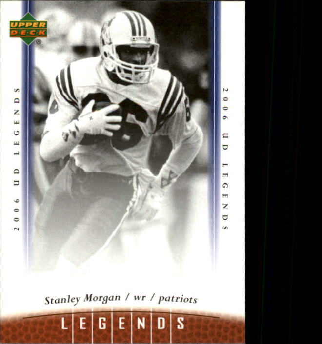 2006 Upper Deck Legends #100 Stanley Morgan