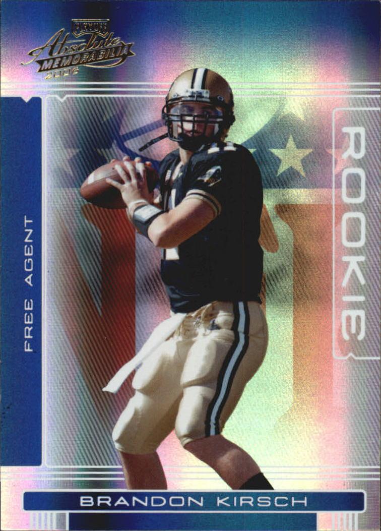 2006 Absolute Memorabilia #157 Brandon Kirsch RC