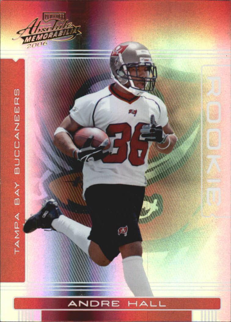 2006 Absolute Memorabilia #158 Andre Hall RC