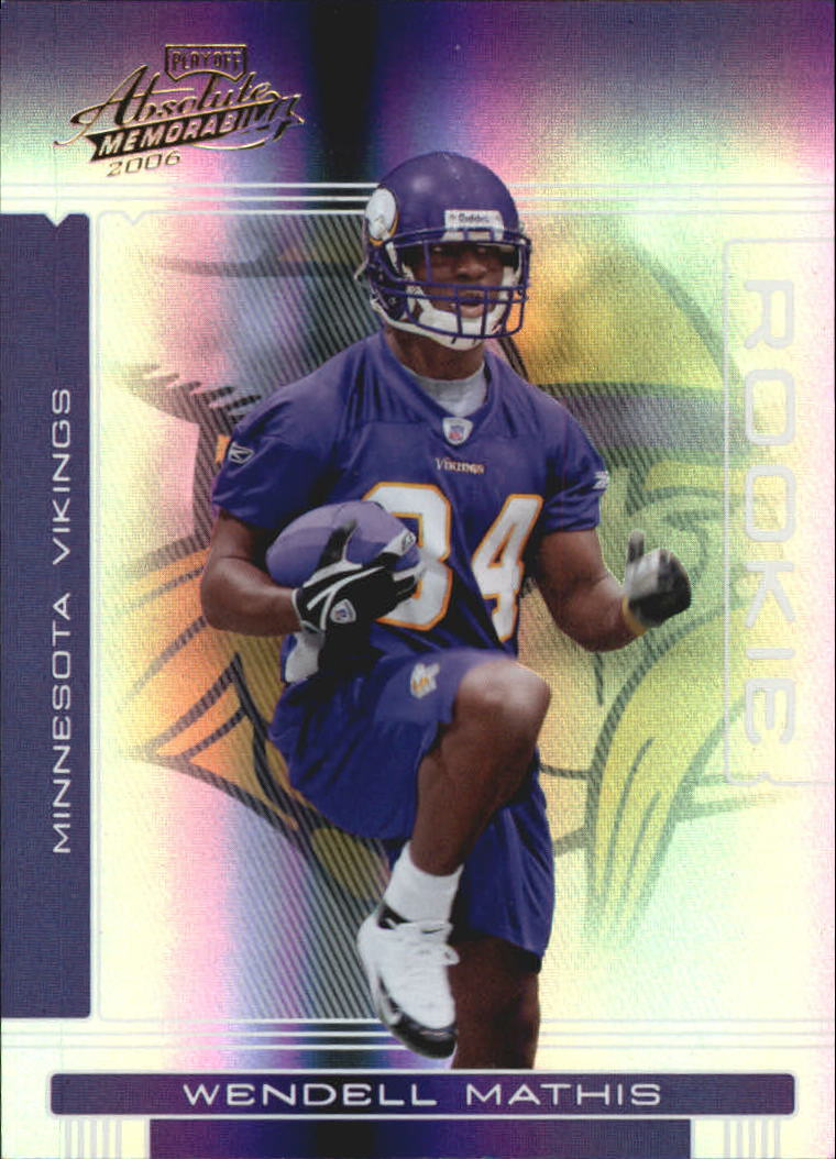 2006 Absolute Memorabilia #162 Wendell Mathis RC