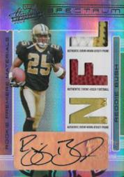 2006 Absolute Memorabilia Rookie Premiere Materials Autographs Spectrum #260 Reggie Bush