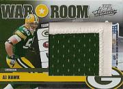 2006 Absolute Memorabilia War Room Materials Prime Oversize #25 A.J. Hawk