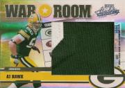 2006 Absolute Memorabilia War Room Materials Prime Oversize Spectrum #25 A.J. Hawk