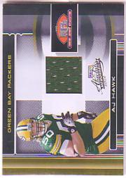 2006 Absolute Memorabilia Rookie Jerseys #1TE A.J. Hawk