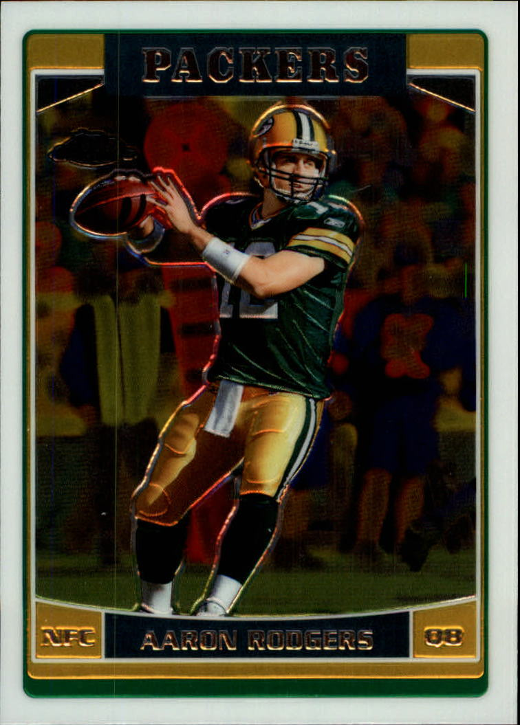 2006 Topps Chrome #14 Aaron Rodgers