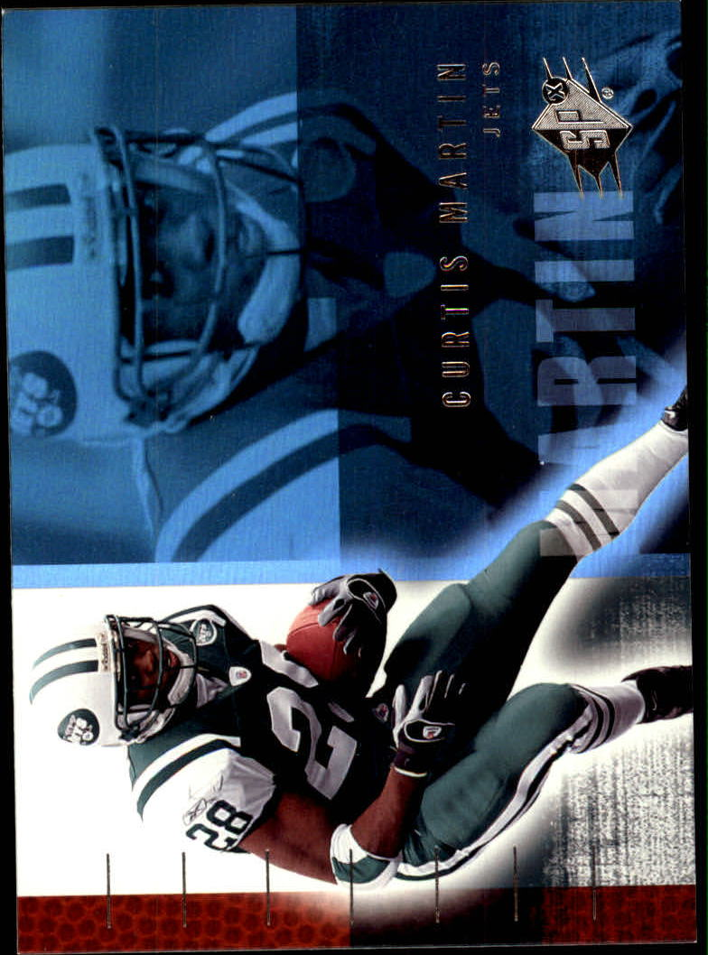 2006 SPx #62 Curtis Martin
