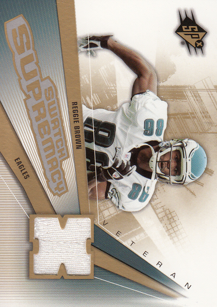 2006 SPx Swatch Supremacy #SWRE Reggie Brown