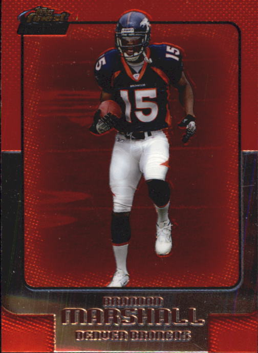 2006 Finest #121 Brandon Marshall RC