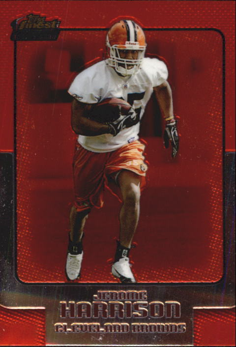 2006 Finest #122 Jerome Harrison RC