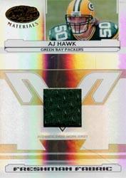 2006 Leaf Certified Materials #225 A.J. Hawk JSY/550 RC