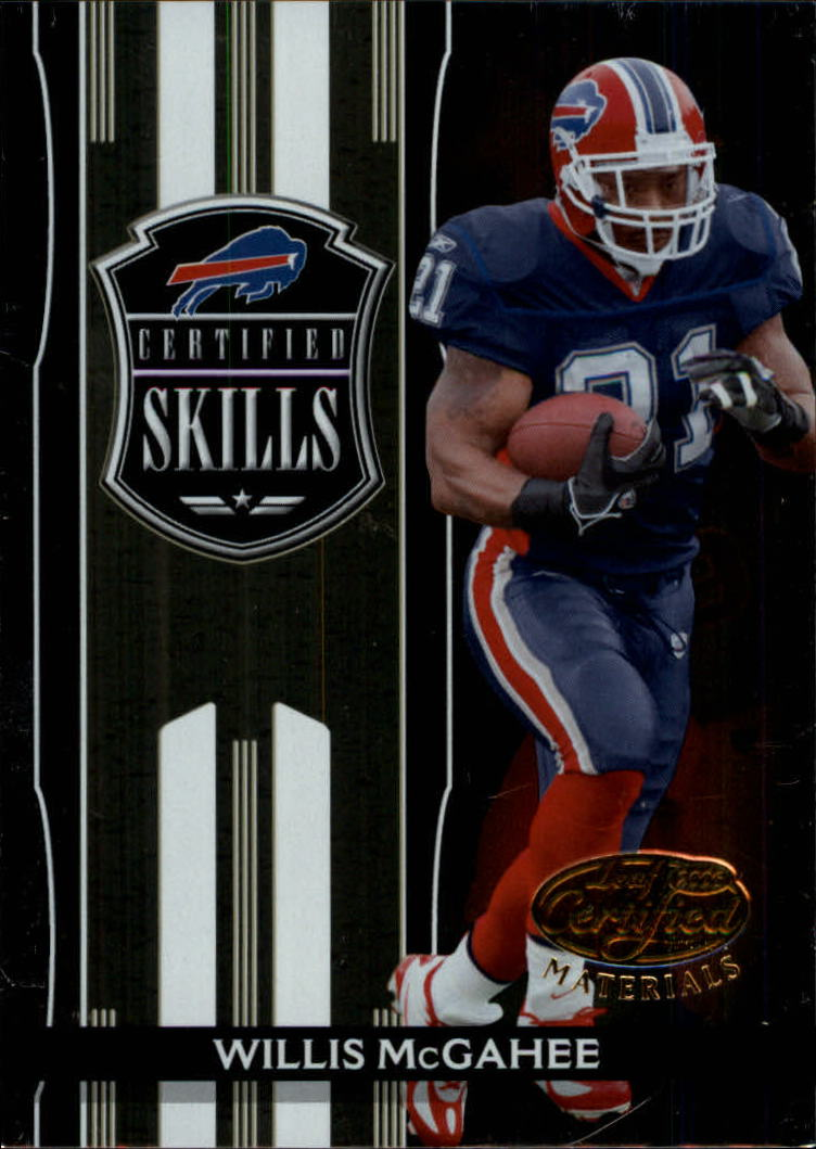 2006 Leaf Certified Materials Certified Skills Gold #20 Willis McGahee
