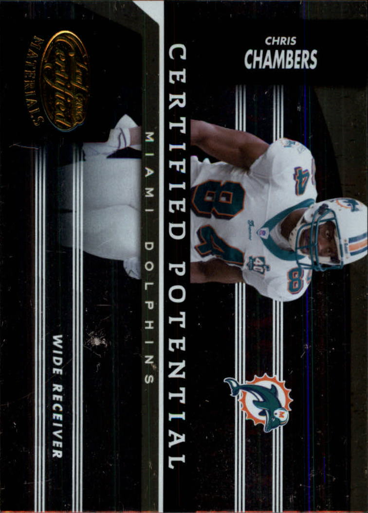 2006 Leaf Certified Materials Certified Potential Gold #8 Chris Chambers