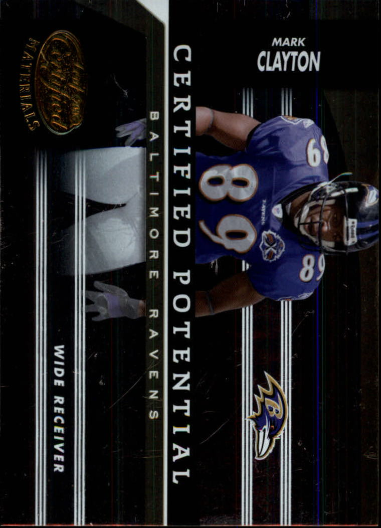 2006 Leaf Certified Materials Certified Potential Gold #12 Mark Clayton