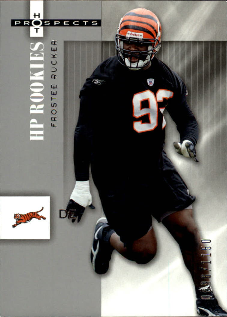 2006 Hot Prospects #132 Frostee Rucker RC
