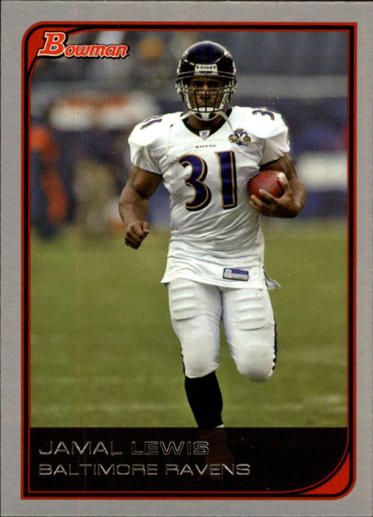 2006 Bowman #5 Jamal Lewis