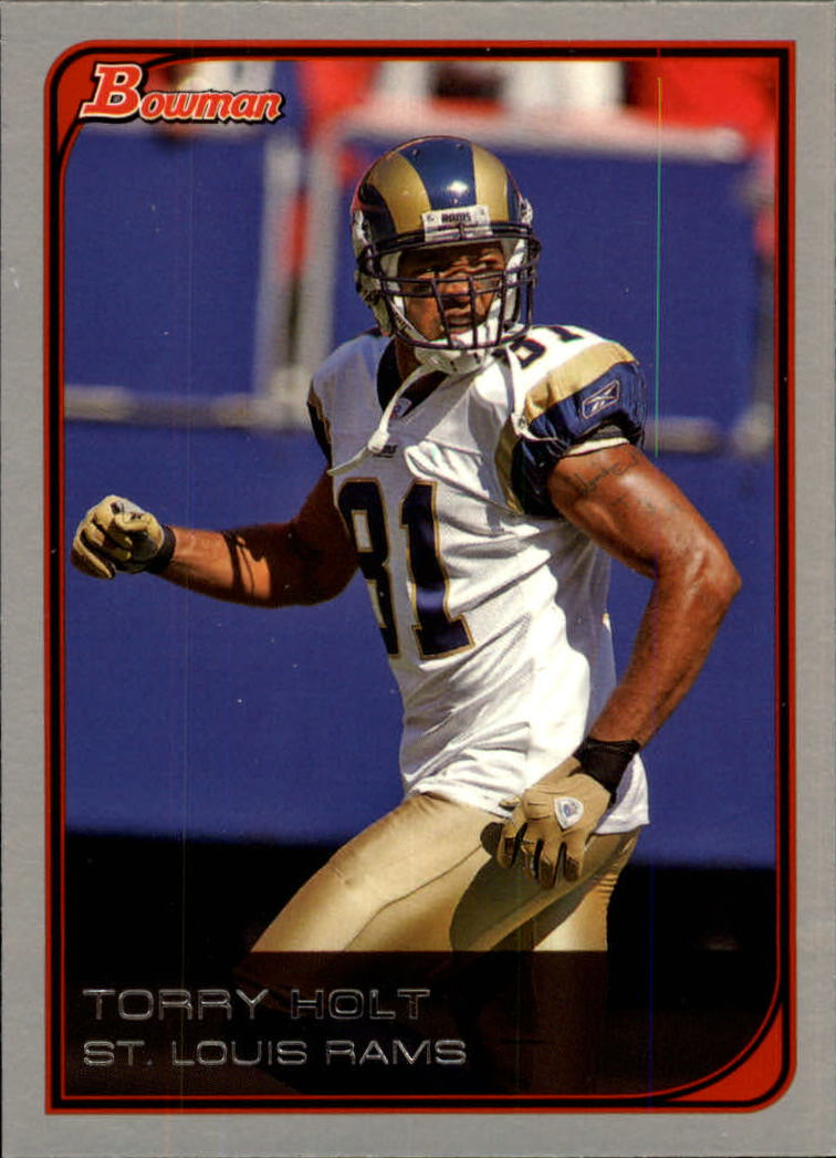 2006 Bowman #12 Torry Holt