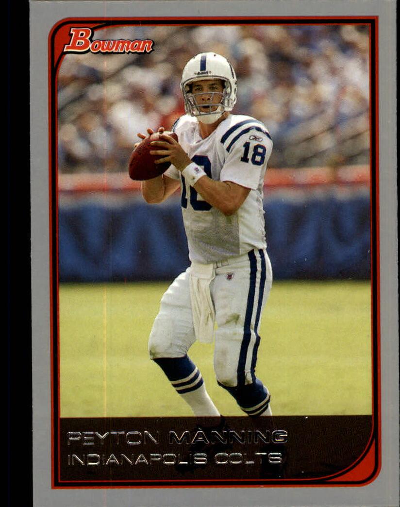 2006 Bowman #38 Peyton Manning