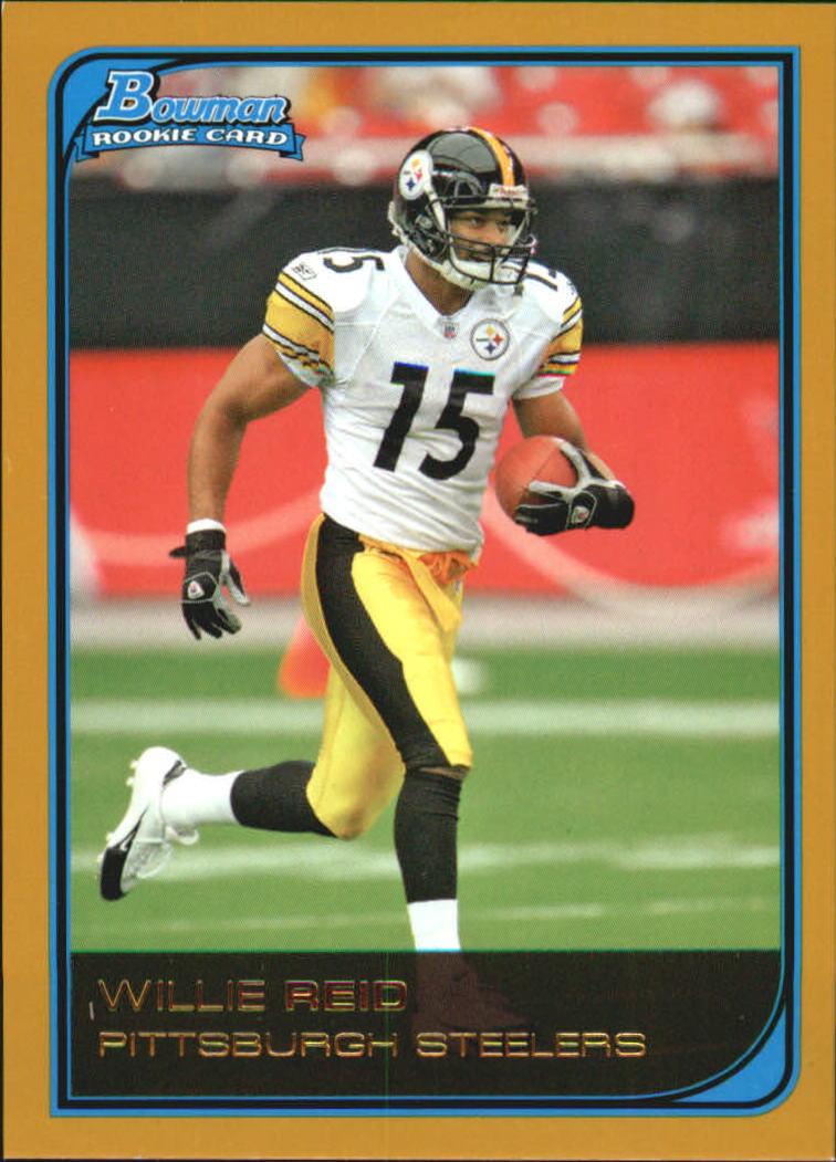 2006 Bowman Gold #253 Willie Reid