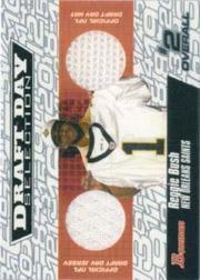 2006 Bowman Draft Day Selections Relics #DJHRB Reggie Bush Jsy-Cap/25