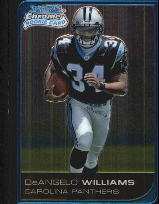 2006 Bowman Chrome #228 DeAngelo Williams RC