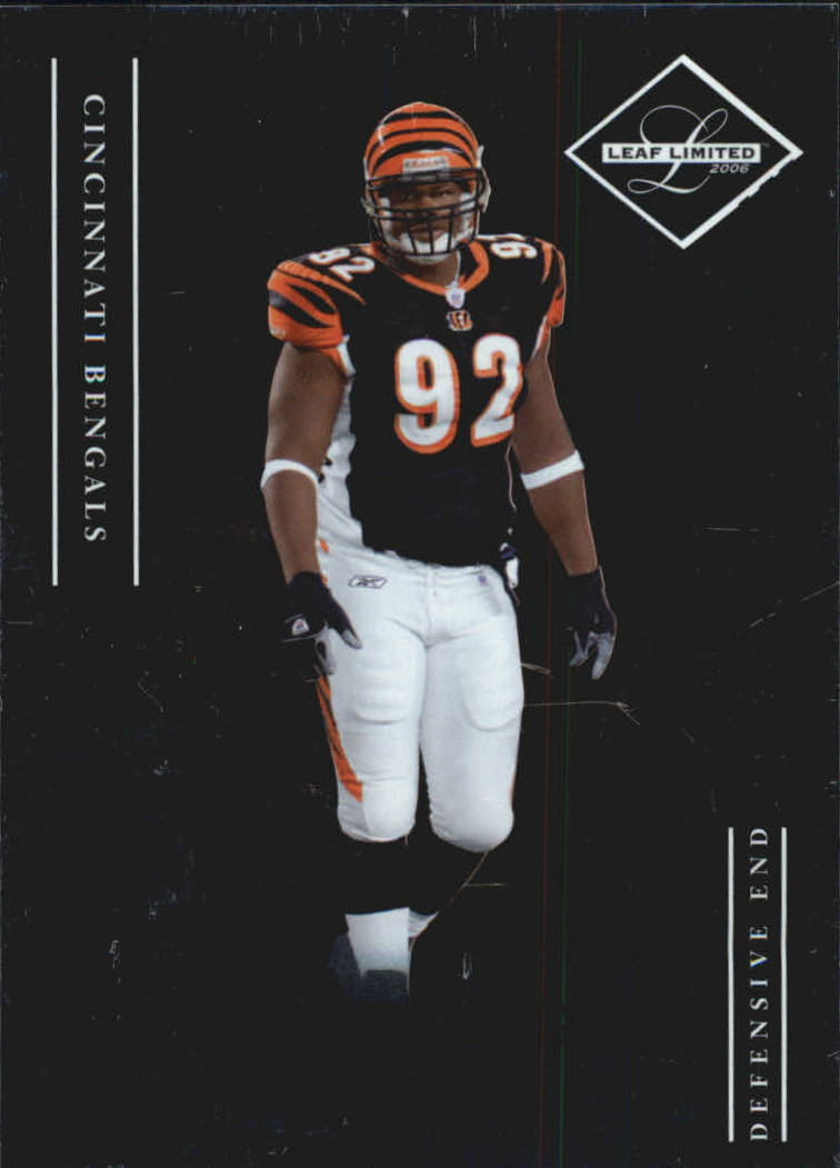 2006 Leaf Limited #193 Frostee Rucker RC