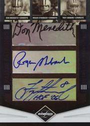 2006 Leaf Limited Prime Pairings Autographs #2 Don Meredith/Roger Staubach/Troy Aikman/Bob Lilly/Tony Dorsett/Craig Morton