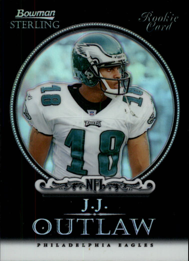 2006 Bowman Sterling Black Refractors #28 J.J. Outlaw
