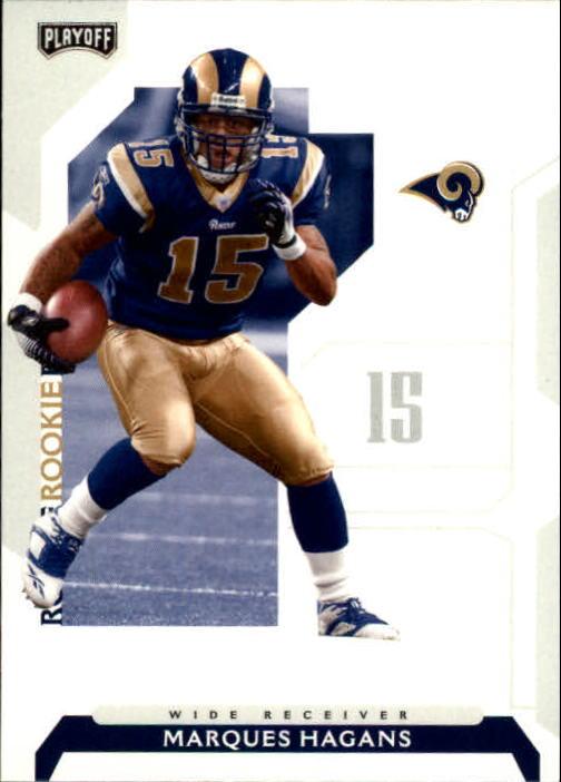 2006 Playoff NFL Playoffs #108 Marques Hagans RC