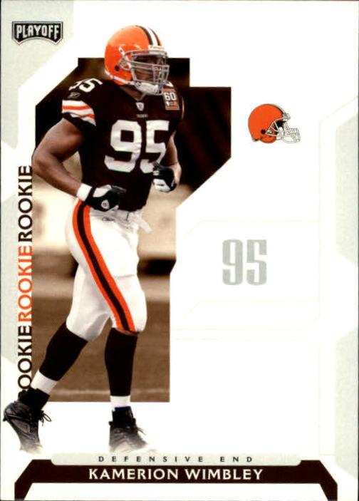 2006 Playoff NFL Playoffs #115 Kamerion Wimbley RC