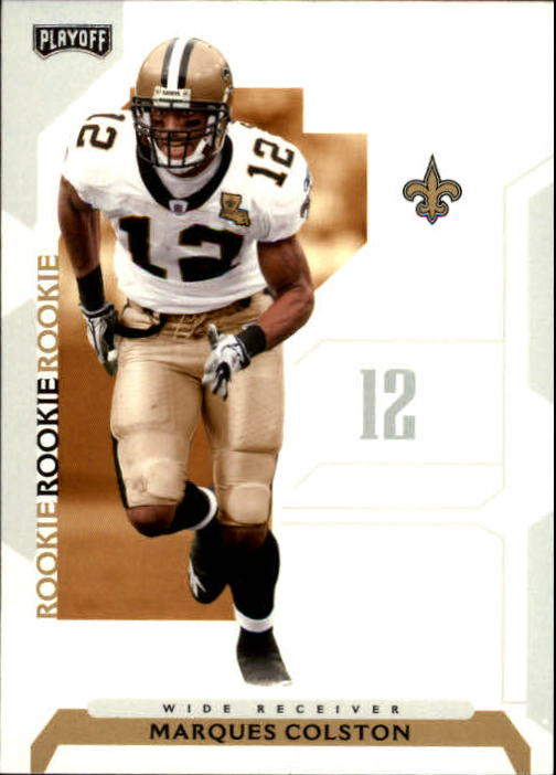 2006 Playoff NFL Playoffs #149 Marques Colston RC