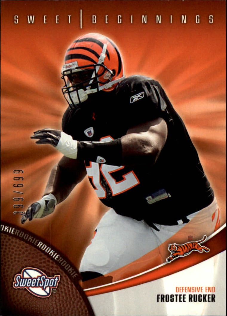 2006 Sweet Spot #148 Frostee Rucker RC