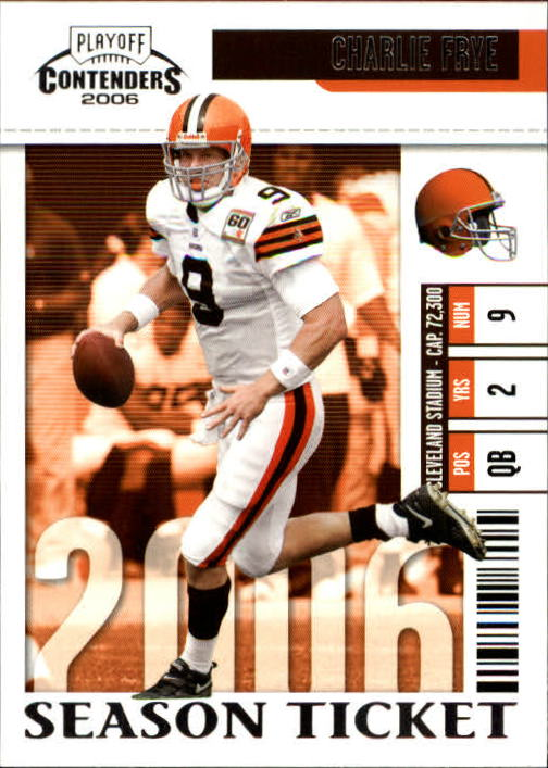 2006 Playoff Contenders #22 Charlie Frye