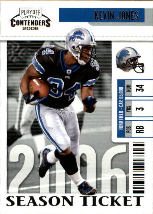 2006 Playoff Contenders #33 Kevin Jones