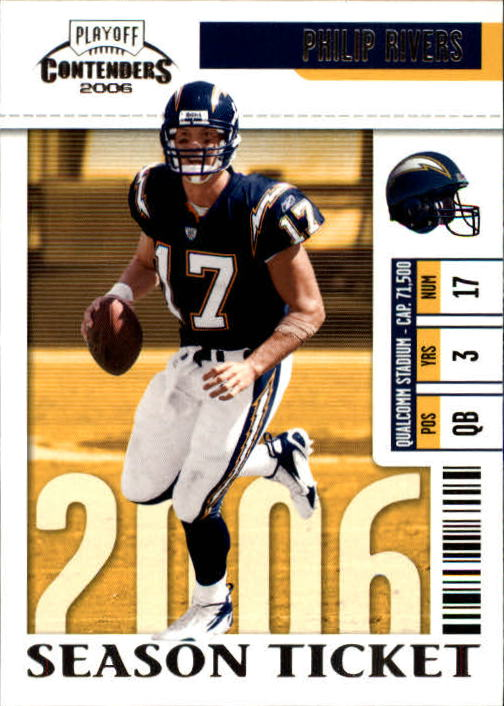 2006 Playoff Contenders #79 Philip Rivers