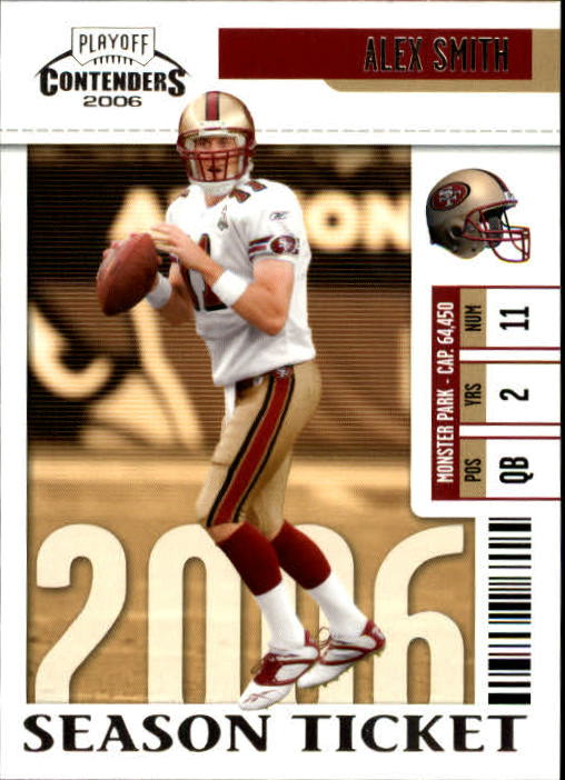 2006 Playoff Contenders #81 Alex Smith QB