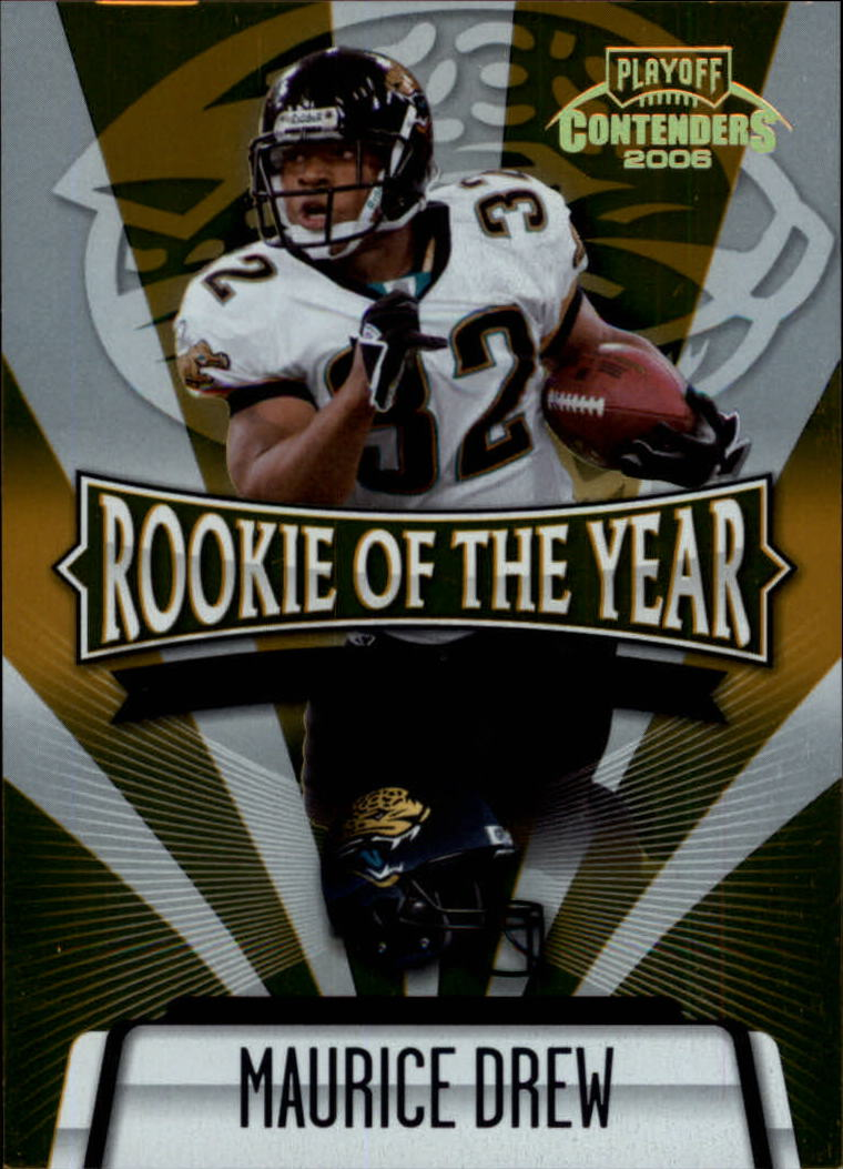 2006 Playoff Contenders ROY Contenders Gold #25 Maurice Drew