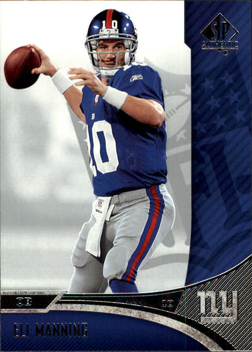 2006 SP Authentic #57 Eli Manning