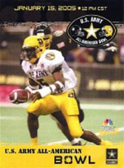 2005 High School Army All-American #1 Reggie Bush