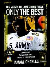 2006 High School Army All-American #2 Jamaal Charles