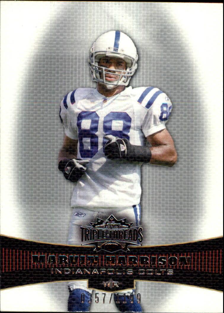 2006 Topps Triple Threads #36 Marvin Harrison