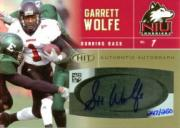 2007 SAGE HIT Autographs Gold #55 Garrett Wolfe