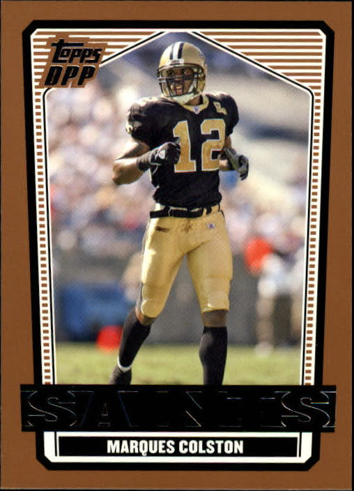 2007 Topps Draft Picks and Prospects #59 Marques Colston