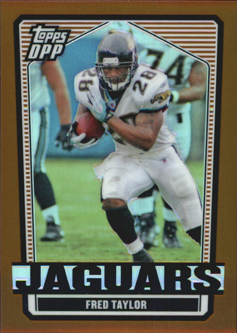 2007 Topps Draft Picks and Prospects Chrome Bronze Refractors #19 Fred Taylor