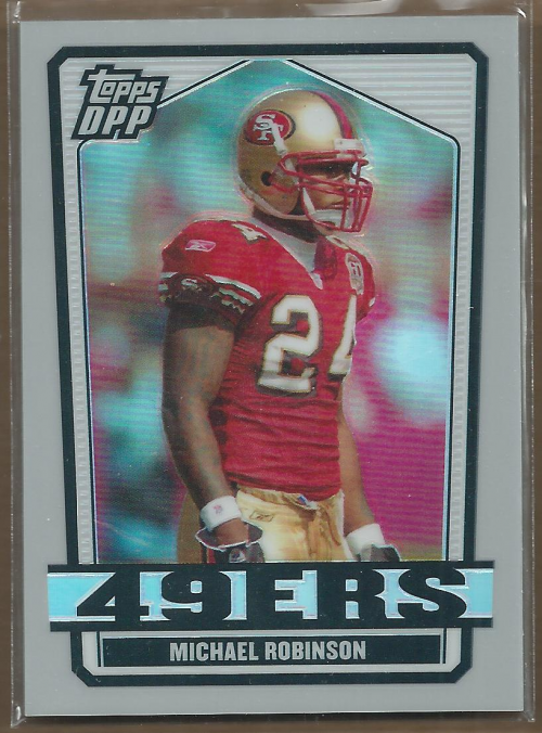 2007 Topps Draft Picks and Prospects Chrome Silver Refractors #70 Michael Robinson