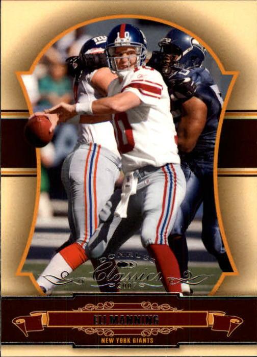 2007 Donruss Classics #65 Eli Manning