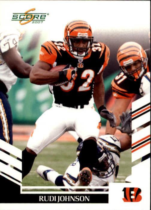 2007 Score #187 Rudi Johnson