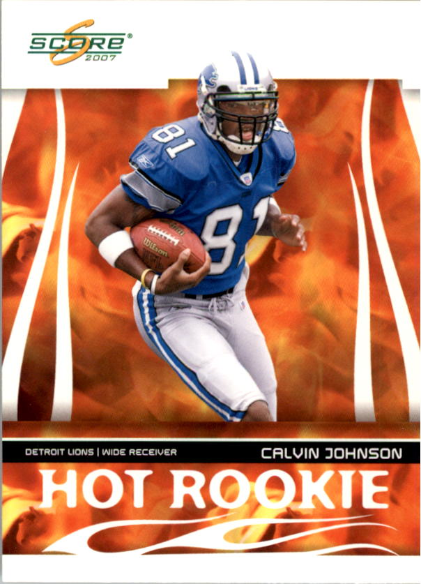 2007 Score Hot Rookies #5 Calvin Johnson
