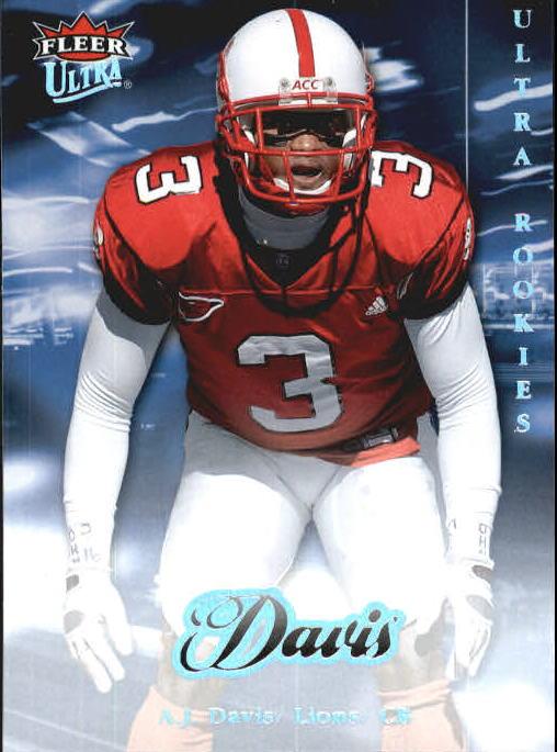 2007 Ultra #298 A.J. Davis RC