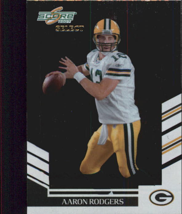 2007 Select #61 Aaron Rodgers