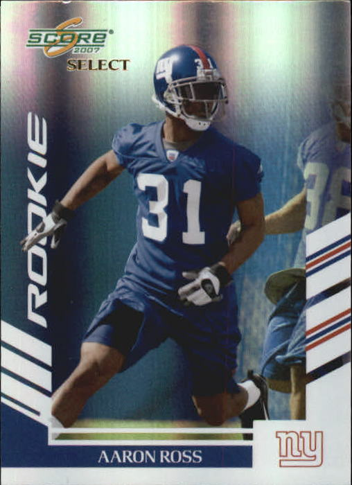 2007 Select #401 Aaron Ross RC